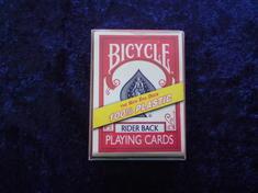 Bicycle Plastic - röd