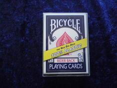 Bicycle Plastic - blå