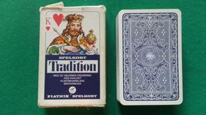 Piatnik Tradition, blå
