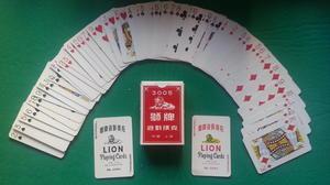 Lion, röd