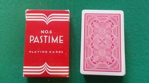 Pastime (no 6) - röd