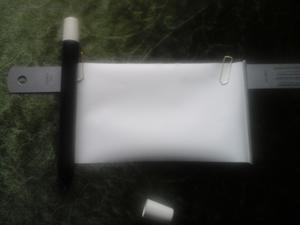 Trollstavs-penna med fusklapp