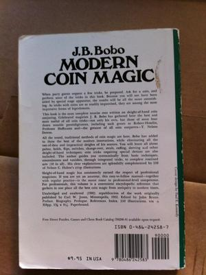 Modern Coin Magic (J.B. Bobo)