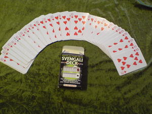Svengali-kortleken -  ekonomivariant