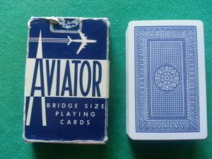 Aviator, blå