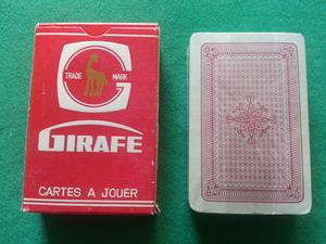 Giraffe, röd