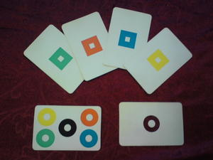 Hoppande cirklar till kvadrater - BEGAGNADE