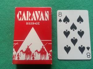 Caravan - röd