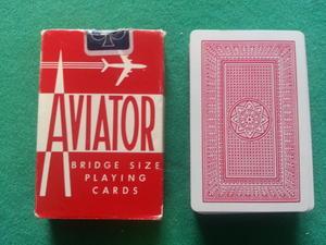 Aviator, röd