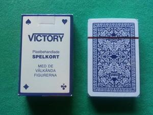 Victory blå