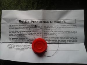 Bottle production gimmick