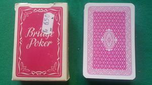 Bridge poker, röd